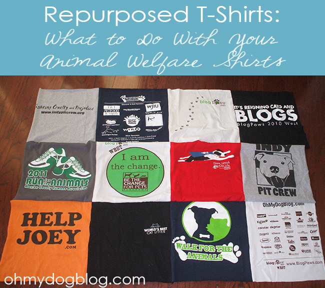 Repurposed TShirts DIY