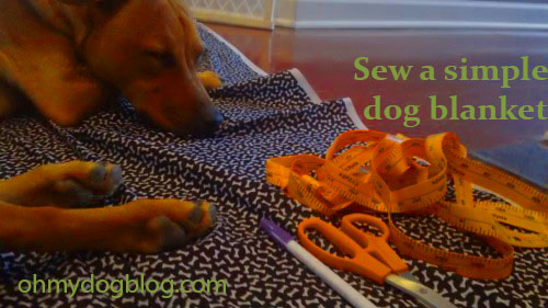 How-to-sew-a-dog-blanket