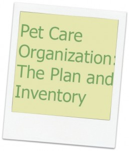 Pet care organization