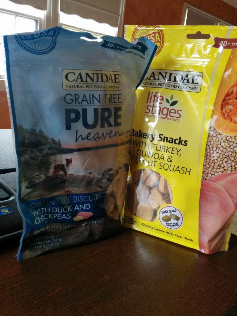 CANIDAE biscuit giveaway