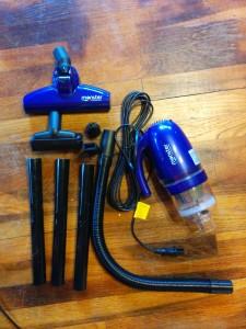 Euroflex vacuum giveaway