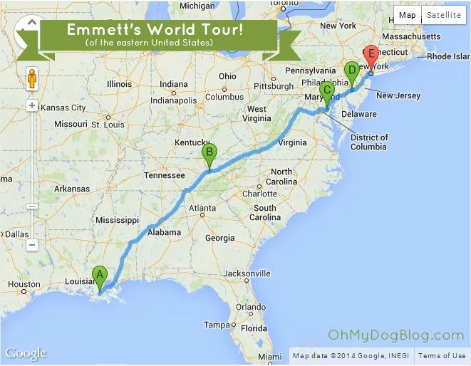 Emmett's Epic Road Trip #EmsBucketList