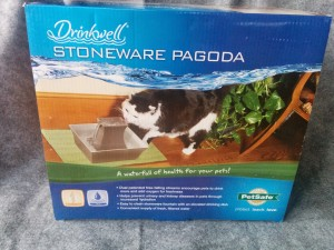 Enter to win a PetSafe drinking fountain