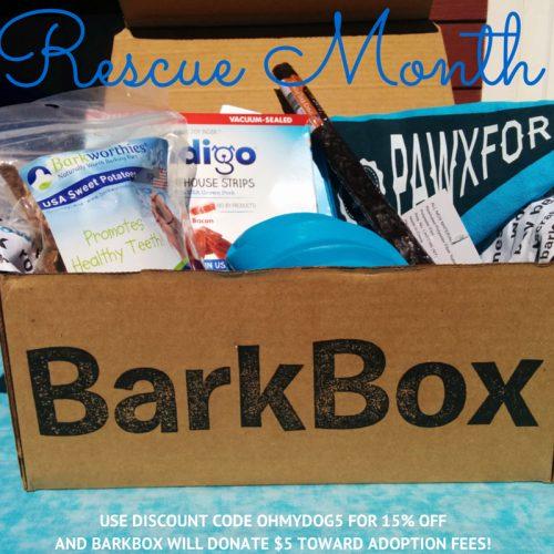 BarkBox Rescue Month