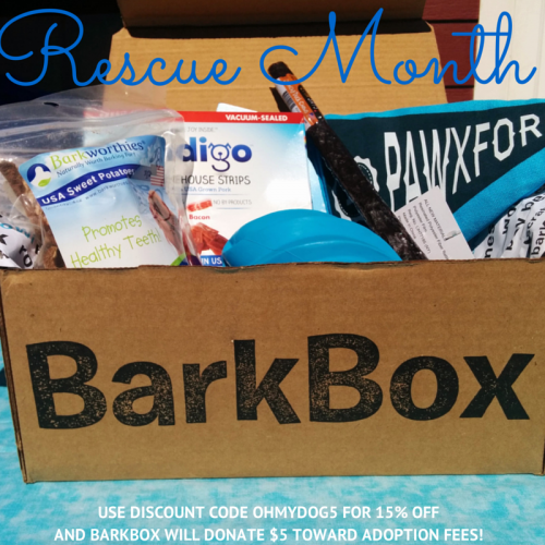 BarkBox Rescue Month