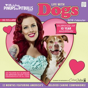 Pinups for Pitbulls 2015 Calendar