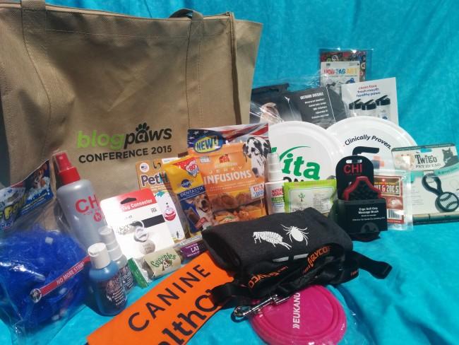 BlogPaws Swag Bag Giveaway