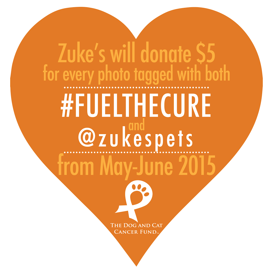 Zukes #FuelTheCure @zukespets