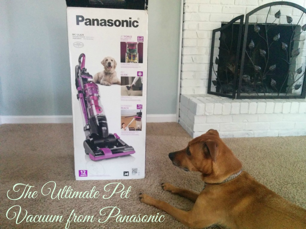 The Ultimate Pet Vacuum from Panasonic