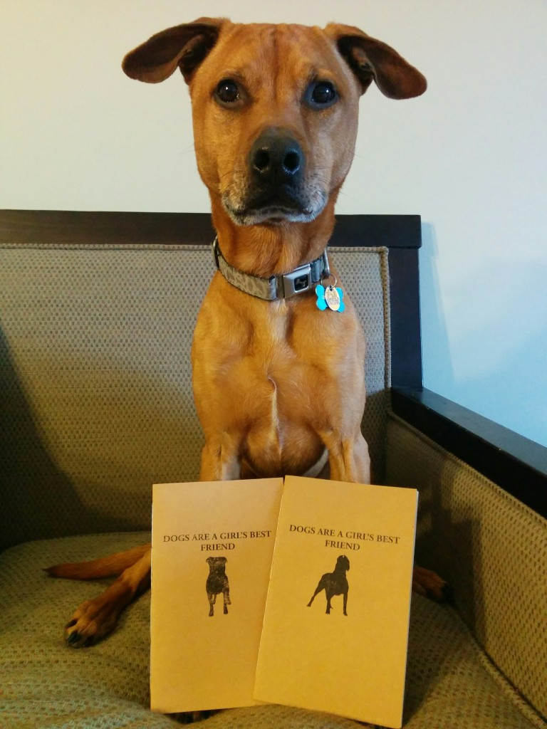 Cooper approves of Black Dog Bindery