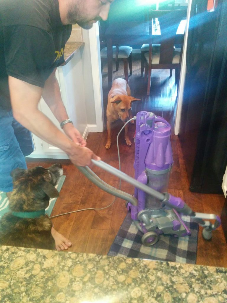 Cooper's still unsure of the vacuum hose
