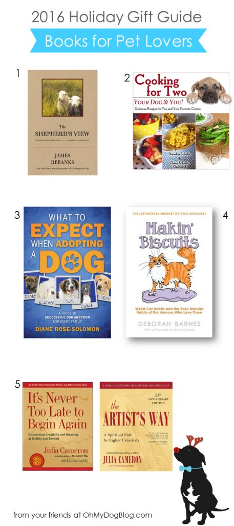 2016 OMD Holiday Gift Guide | Best Books for Pet Lovers