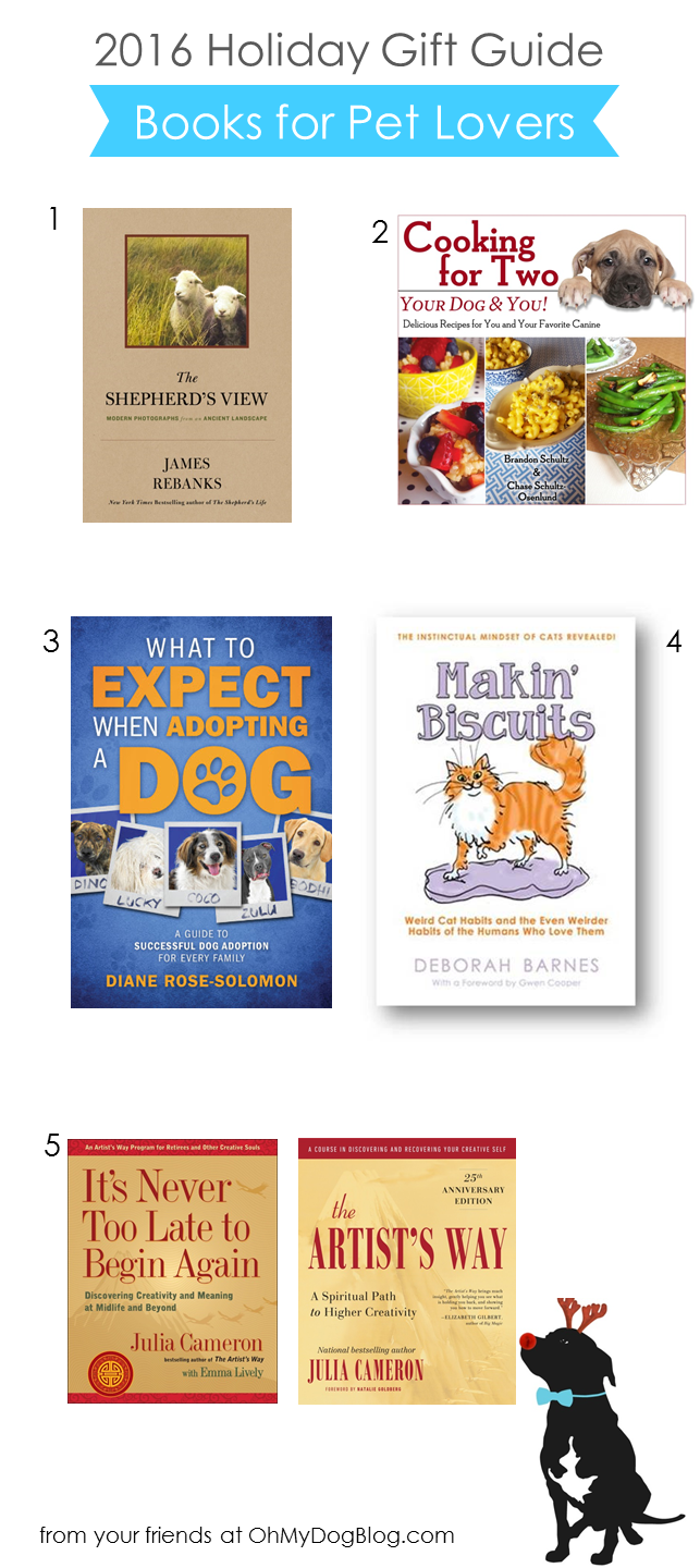 2016 Holiday Gift Guide: The Top 5 Books for Pet Lovers - Oh
