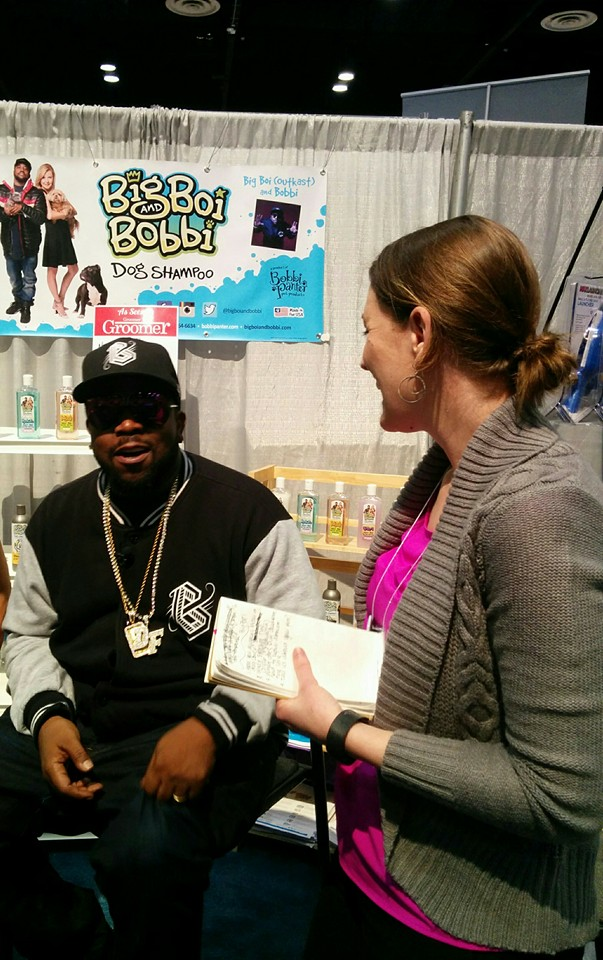 Interviewing Big Boi at Global Pet Expo