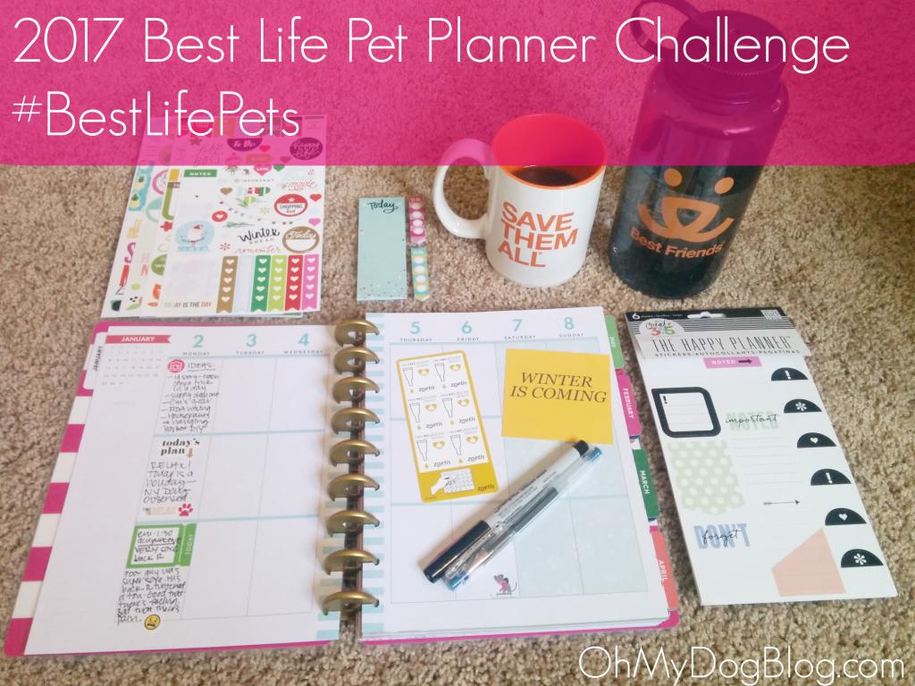 2017 Best Life Pet Planner Challenge