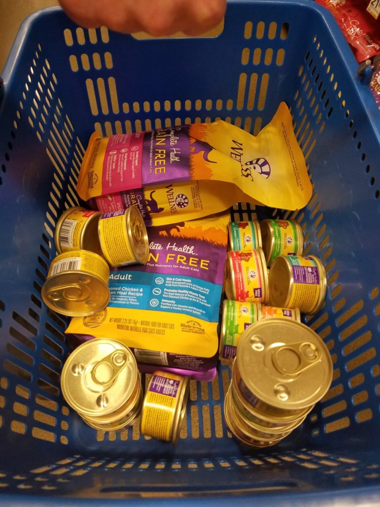 Tons of Wellness cat food