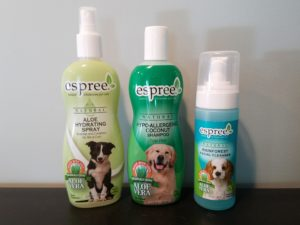 Espree grooming selection
