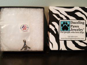 Dazzling Paws pendant
