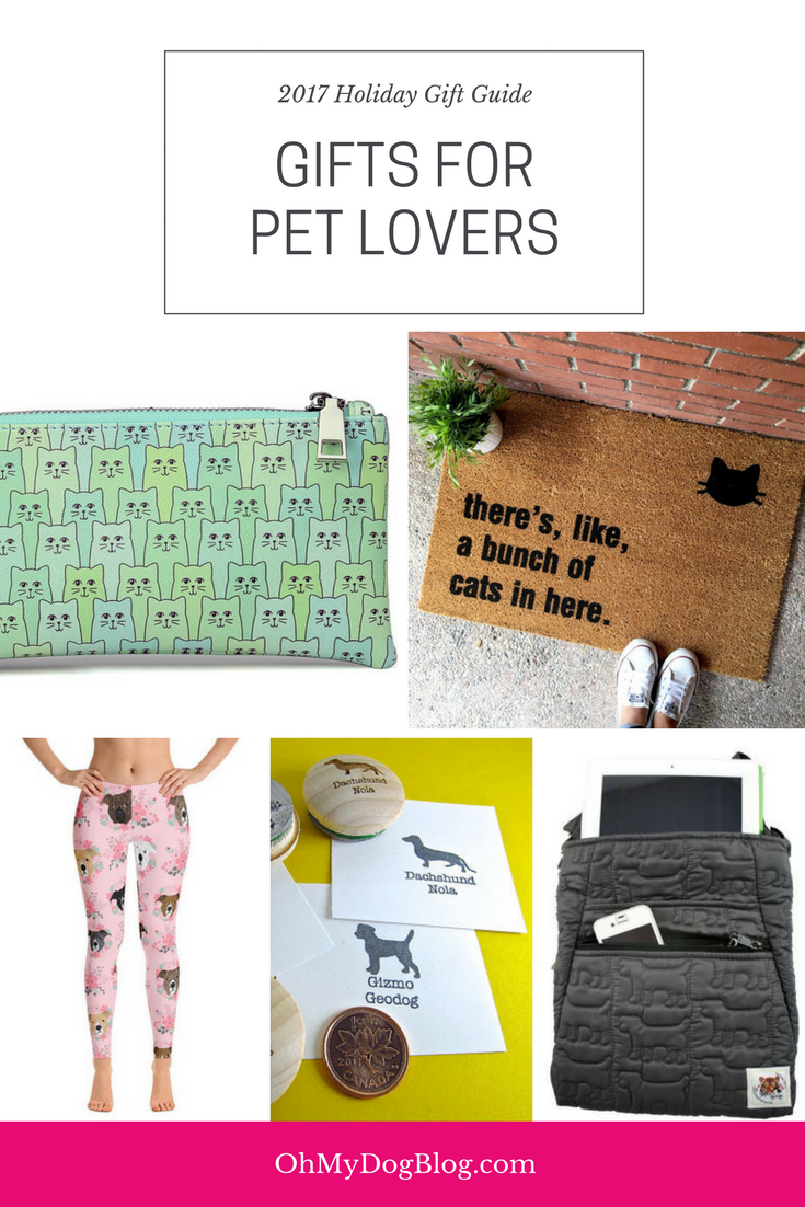 2017 Holiday Gift Guide - Best Gifts for Pet Lovers
