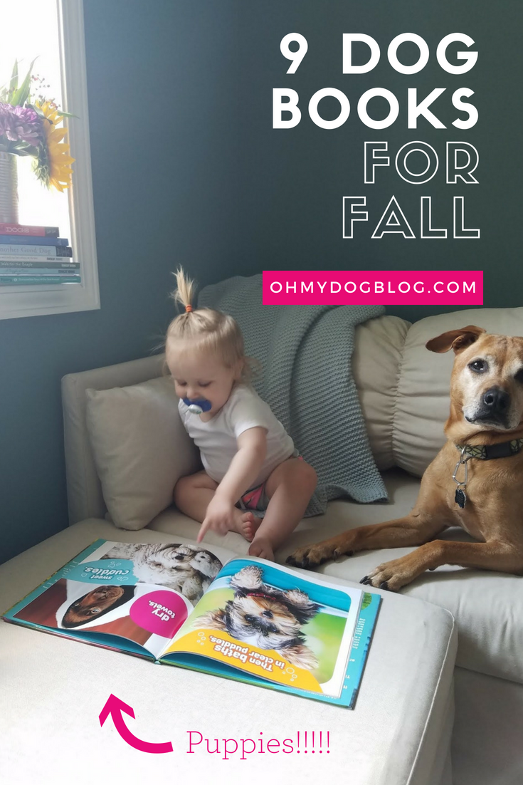 9 Dog Books You Need to Read This Fall (Pssst... you can win them all here!)