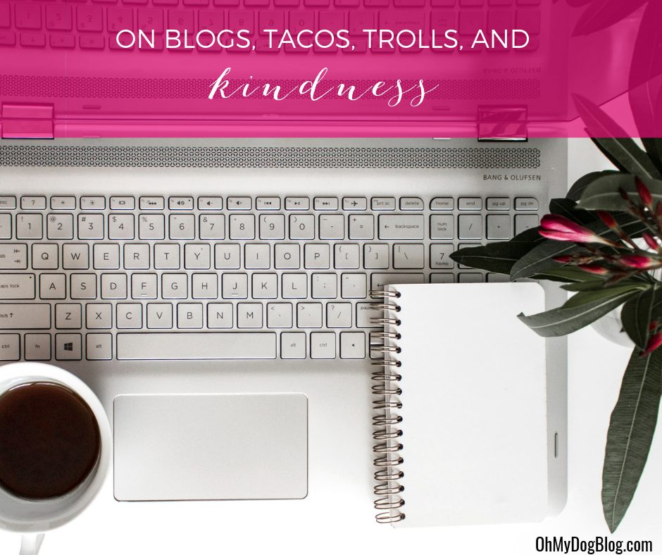 Reflections on dog blogs, evil trolls, and #WorldKindnessDay
