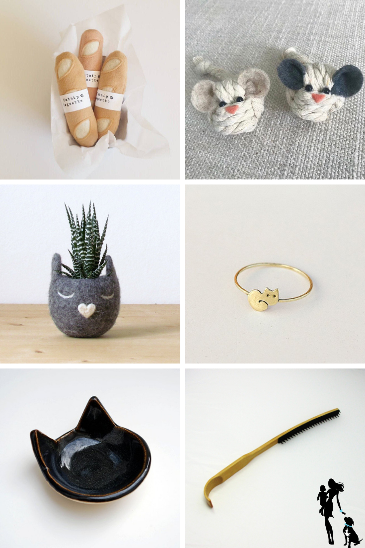 The 12 Best Handmade Gifts for Pet Lovers_ Cats Edition